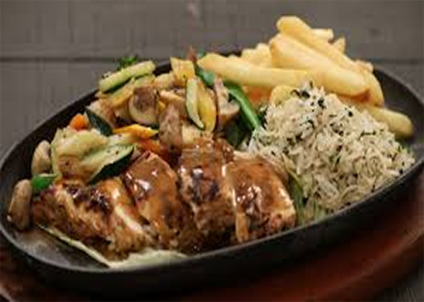 online Sizzler Chicken/Fish/Veg. order in pokhara