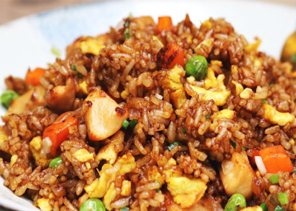 online order Mix Fry Rice