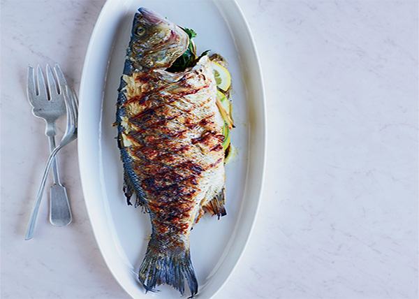 online order Whole Grilled Fish(500gm.)