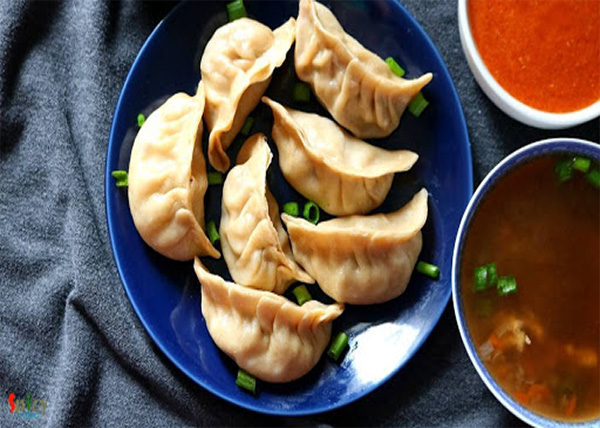 online order Steam Chicken MOMO