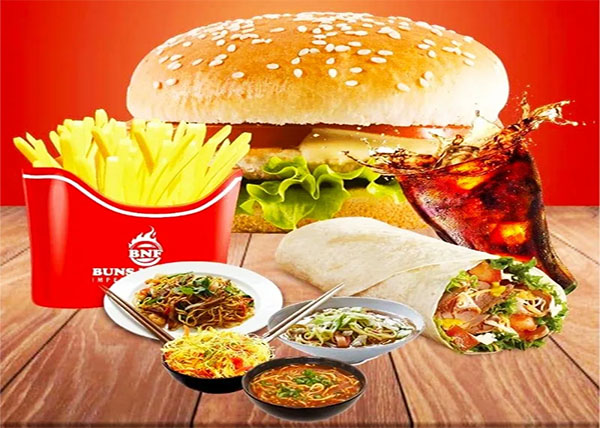 online 2pc Fried Chicken +Chiken Mo:Mo +Chiken Burger French Fries +Coke order in pokhara
