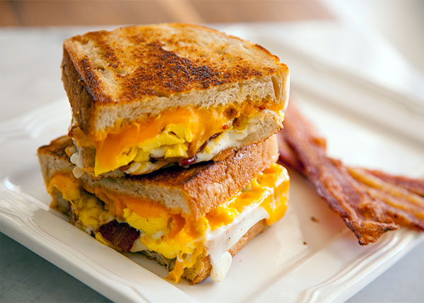 online order Cheese Bacon Sandwich