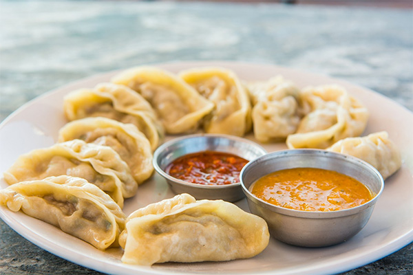 online Chicken MOMO order in pokhara