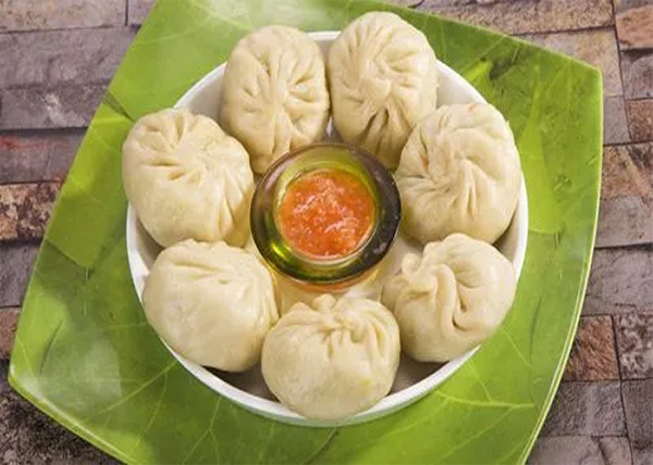 online order Steam Veg MOMO
