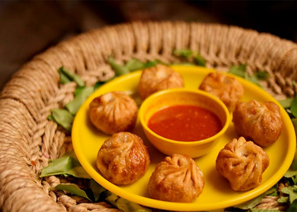 online Fried Buff MOMO order in pokhara