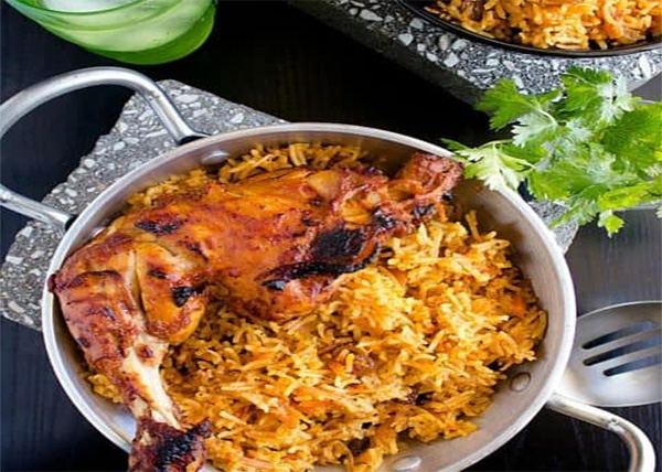 online Kabsa Chicken order in pokhara