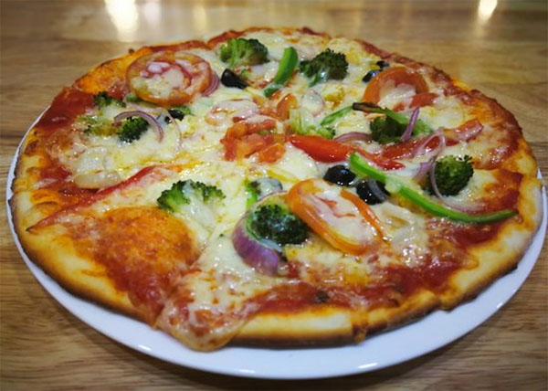 online order Godfather Lover special Veg Pizza