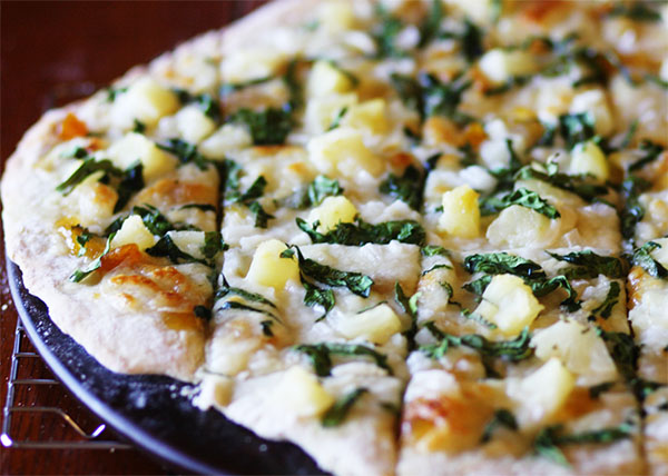 online order Margherita Pizza with Pineapple/Spinach