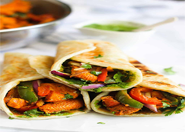 online Chicken Kathi Roll order in pokhara