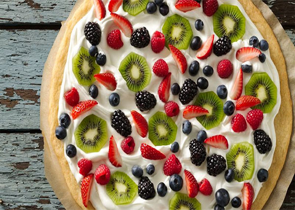 online Fruity pizza order in pokhara