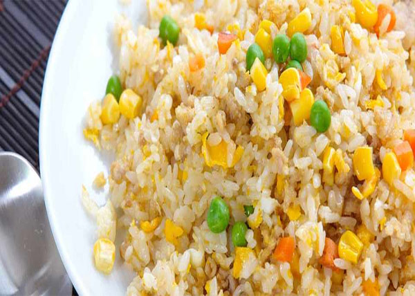 online order Vegitable Fried Rice/Egg Fried Rice