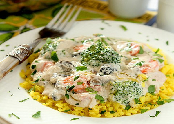 online order Vegetable Stroganoff