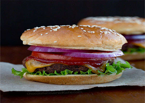 online Vegetable Burger order in pokhara