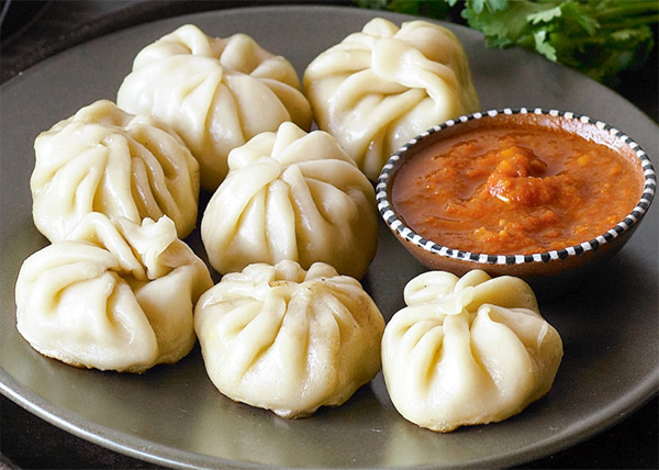 online Steam Buff MOMO order in pokhara