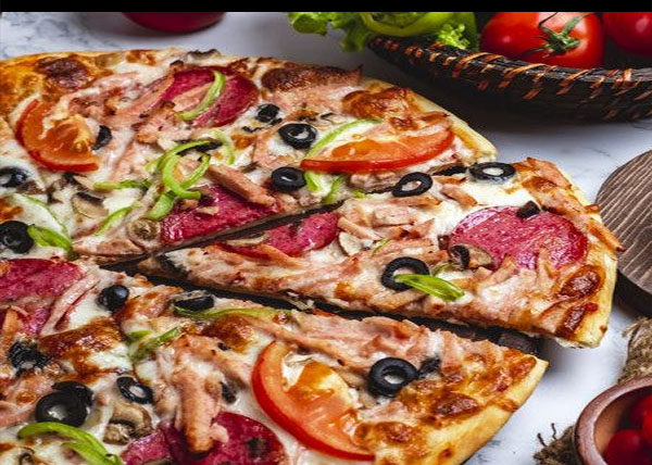 online order Margherita Pizza with Chicken/Tuna