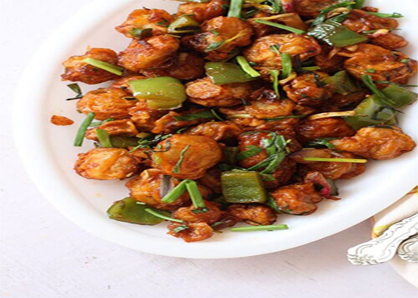 online Mushroom Chilly/Paneer Chilly order in pokhara