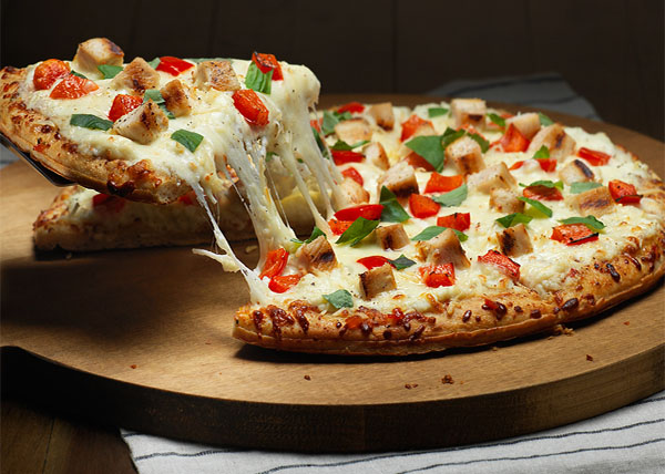 online Chicken Pizza order in pokhara
