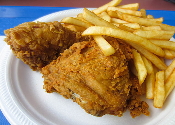 online order Fried Chicken & Chips
